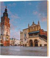 krakow 'XVIII Wood Print