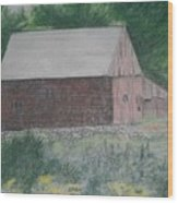 Krashes Barn Wood Print