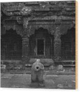 Krishna Devi Temple Wood Print