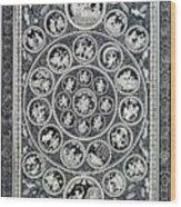 Krishna Leela 3 Wood Print