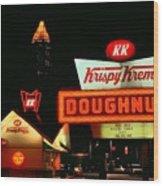 Krispy Kreme Doughnuts Atlanta Wood Print