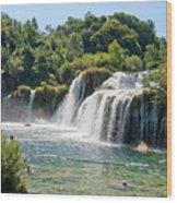 Krka National Park Waterfalls 9 Wood Print