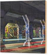 Krog Street Tunnel Wood Print