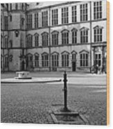 Kronborg Castle Courtyard Wood Print