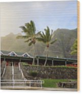Kualoa Ranch 2 Wood Print