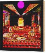 Kubla Wood Print