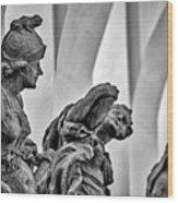 Kuks Statues - Czechia Wood Print