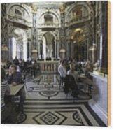 Kunsthistorische Museum Cafe Wood Print