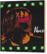 Kurt Cobain Nirvana Wood Print
