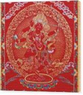 Kurukulle Devi Wood Print