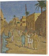 Kut Iraq Wood Print