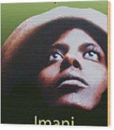 Kwanzaa Imani Wood Print