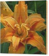 Kwanzaa Lily Wood Print