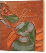 Kwepena - Tile Wood Print
