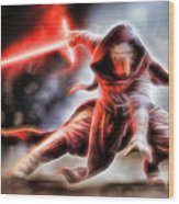 Kylo Ren I Will Fulfill Our Destiny Wood Print