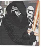 Kylo Ren - Star Wars Wood Print