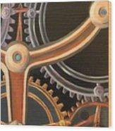 Kym's Clockwork Wood Print