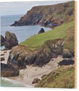 Kynance Cove Wood Print