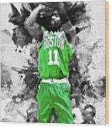 Kyrie Irving, Boston Celtics - 05 Wood Print