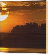 L For Ladoga Wood Print