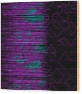 l14-FF00DD-3x3-1200x1200 Wood Print