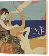 La Bague Symbolique Wood Print
