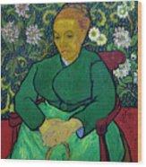 La Berceuse, Portrait Of Madame Roulin, 1888-1889, Kroller-mulle Wood Print