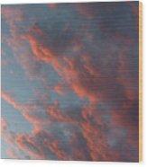 La Boca Sunset Wood Print