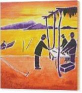 La Brecha Pescadors Wood Print