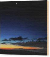 la Casita Playa Hermosa Puntarenas Costa Rica - Sunrise A One Wood Print by Felipe Adan Lerma