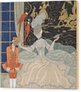 La Comtesse From Personages De Comedie Wood Print