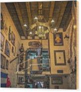 La Cubana Restaurant Wood Print