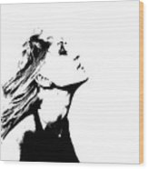 La Dolce Vita Lady I Wood Print