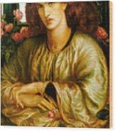 La Donna Della Finestra Wood Print