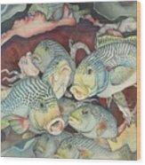 La douce mer Wood Print