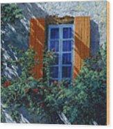 La Finestra E Le Ombre Wood Print