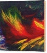 La Fleur Du Paradis Wood Print