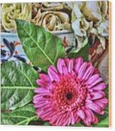 La Flor De La Castellana Wood Print
