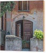 La Fraschetta Del Borgo Wood Print