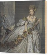 La Frayeur Wood Print