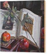La Gioconda  Wood Print by Ylli Haruni
