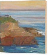 La Jolla Cove 018 Wood Print