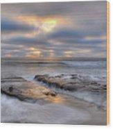 La Jolla Light Wood Print