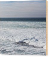 Atlas Ocean /la Jolla Shores Wood Print