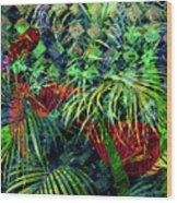 La Jungla #1 Wood Print