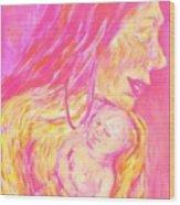 La Madona Wood Print