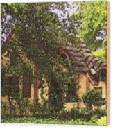 La Maison Wood Print