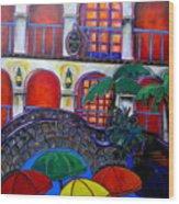 La Mansion Del Rio Wood Print