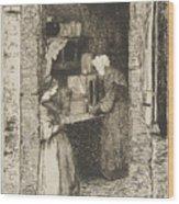 La Marchande De Moutarde Wood Print