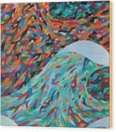 La Mer Wood Print